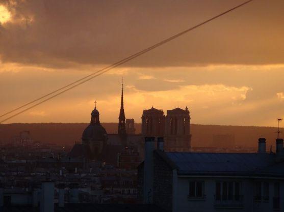 DSC02761 Notre Dame Sonnenuntergang
