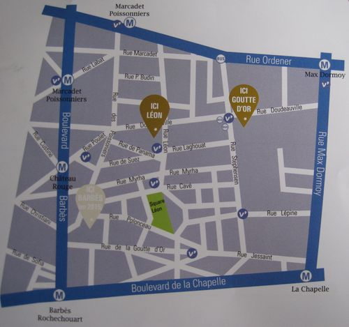10 Arrondissement Gefährlich 18 arrondissement und frankreich