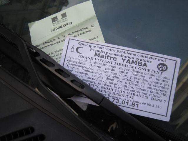 Auto mit Werbung 007