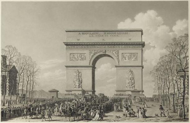 418418-napoleon-mariage-avec-marie-louise-2-avril-1810-maquette-de-larc