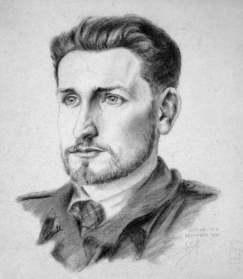 portrait du prisonnier du stalag - Kopie
