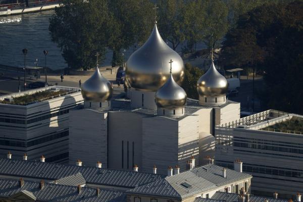 FRANCE-RUSSIA-RELIGION-CHURCH