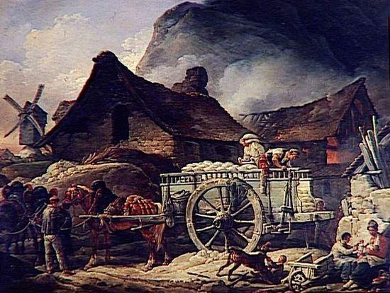 four_a_platre_a_montmartre_charles_vernet_1758-1836