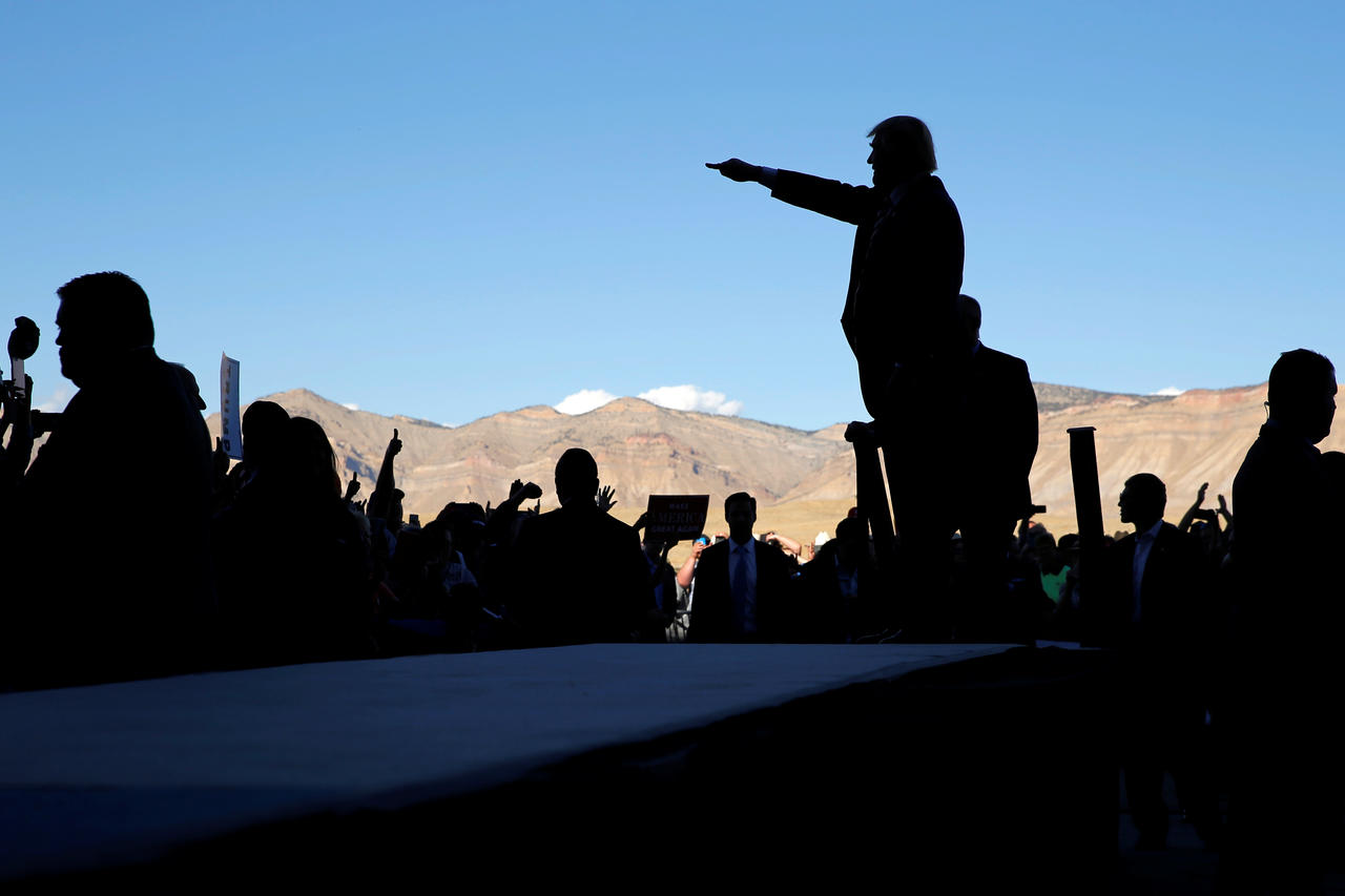 Trump holds a campaign rally in Grand Junction, Colorado