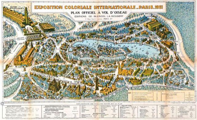19a2 Plan der Exposition