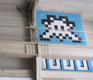 invader Ausstellung 2011 11e 012