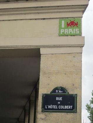 Invador rue de ö'Hôtel Cobert 5e (4)