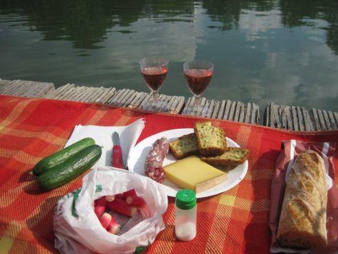 Picknick an der Marne