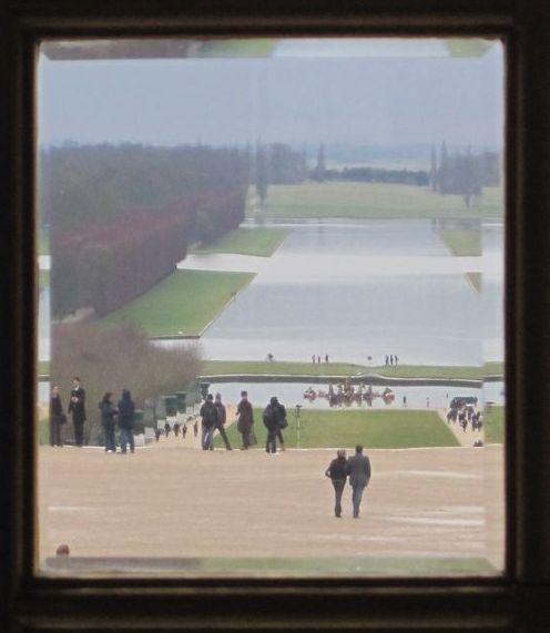 Versailles Blick aus Spiegelsaal Febr. 10 (52)