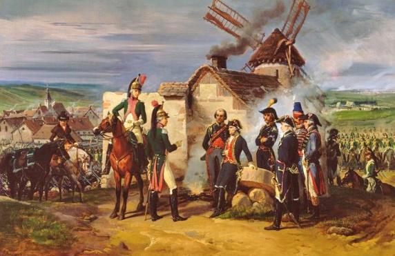 Feron_-_Le_Duc_de_Chartres_à_Valmy_(1792)
