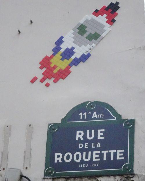 DSC01308 Invader Rakete rue de la Roquette