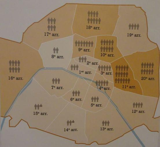 10 Arrondissement Gefährlich 20 arrondissement und frankreich