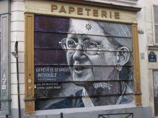 de Gaulle Buchhandlung Belleville (1) Rue de Tourtille
