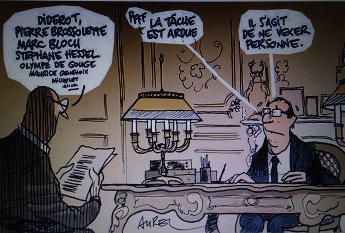 Karikatur Le Monde DSC02380