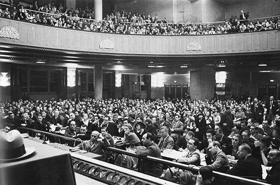 International_Congress_for_the_Defense_of_Culture_Hall_of_the_Mutualite_Paris_1935