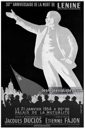 Lenin Plakat