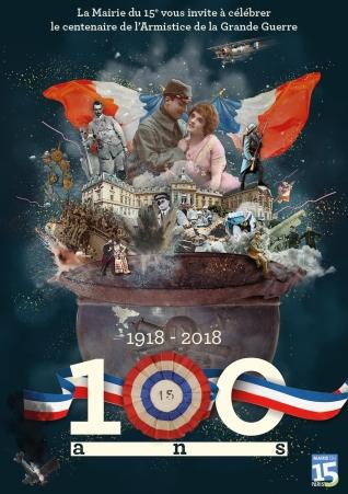 20189A5 recto general - Centenaire Armistice_R