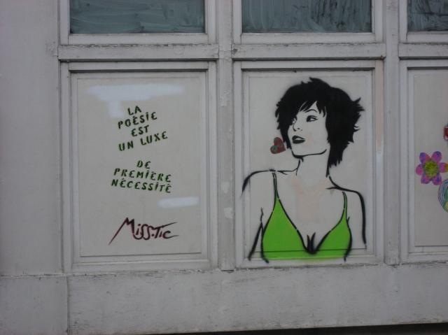 Miss Tic Butte rue du moulin des prés