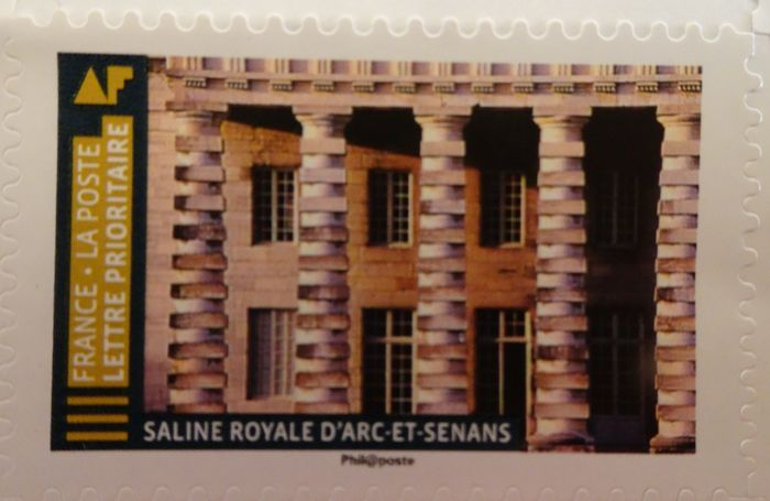 Briefmarke Arc et Senans (2)