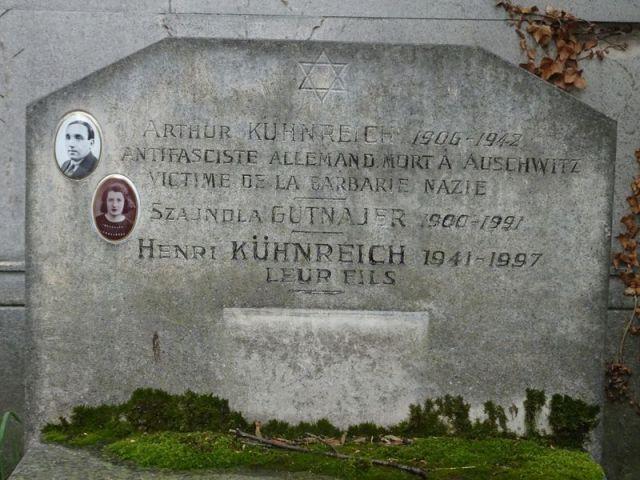 DSC04066 Pere Lachaise Nazi Opfer 52. Div.