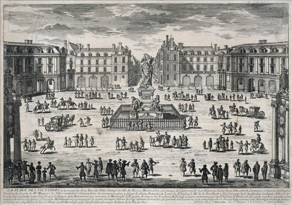 Paris_-_Place_des_Victoires_Aquarell_von_Adam_Perelle_+1695,_1660