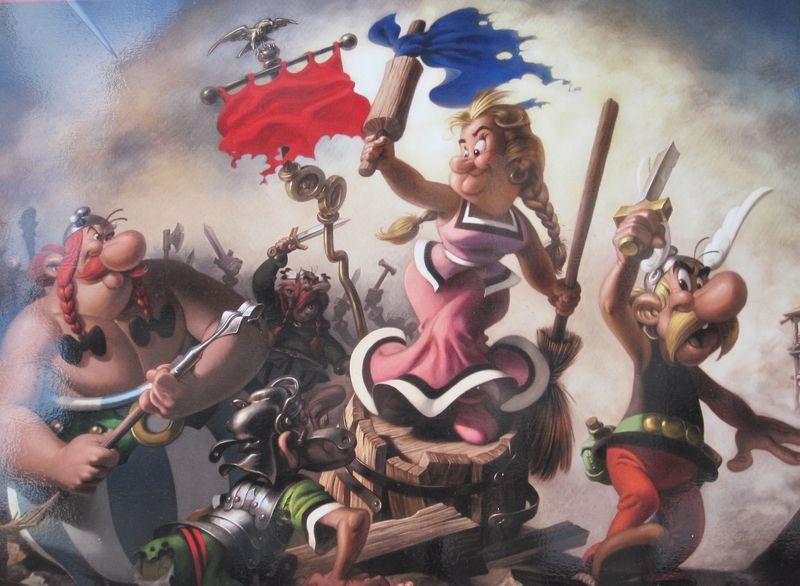 Asterix im Cluny 001