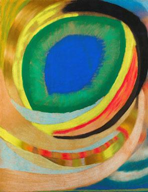 'Kosmisches_Auge'_by_Otto_Freundlich,_1921-22,_pastel