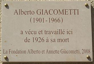 330px-Plaque_Alberto_Giacometti,_46_rue_Hippolyte-Maindron,_Paris_14