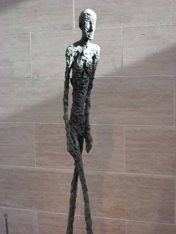 Giacometti L'homme qui marche
